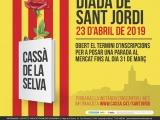 Obert el període d'inscripcions per a sol·licitar una parada per la Diada de Sant Jordi a Cassà de la Selva