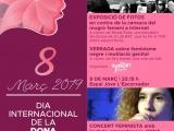Activitats a Cassà de la Selva per commemorar el dia de la Dona