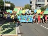 Lectura de manifest i trobada per la Setmana Contra el Canvi Climàtic, davant de l'Ajuntament de Cassà de la Selva.