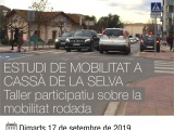 TENS MOLT A DIR: Taller participatiu dintre de l'estudi de Mobilitat rodada