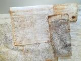 L'Arxiu Municipal de Cassà de la Selva recupera més de 200 pergamins trobats a Can Frigola