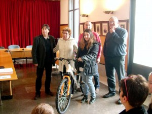 La guanyadora del concurs, Rosa M. Cabarrocas