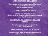 Jornada reivindicativa a Cassà de la Selva el diumenge 8 de març