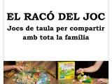 El Racó del Joc, jocs de taula per compartir amb la família i els amics